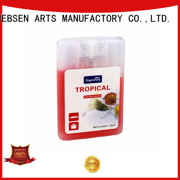 JEBSEN ARTS Brand freshener bottle air custom refresh air freshener
