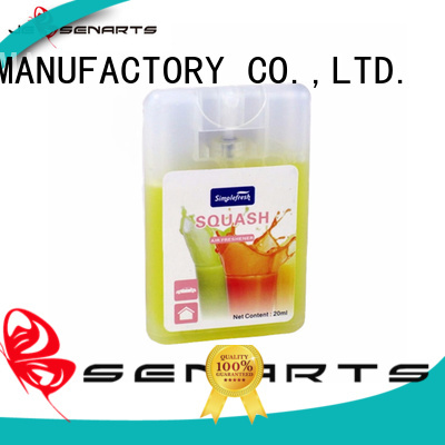 car perfume spray mini sanis sprays JEBSEN ARTS Brand company