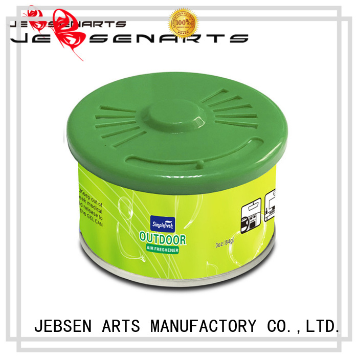 Quality JEBSEN ARTS Brand scents car air freshener can