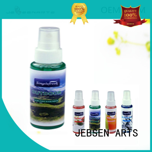 unscented Custom shape car air freshener spray air JEBSEN ARTS