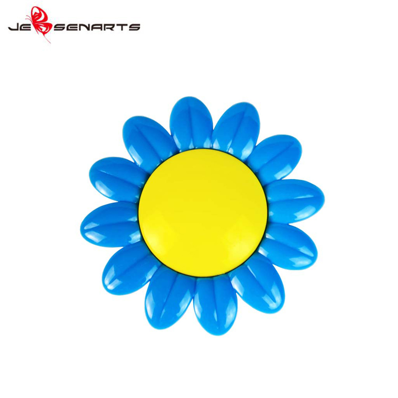 Plastic sunflower shape aroma car perfume vent clip scented vehicle air freshener holder V13