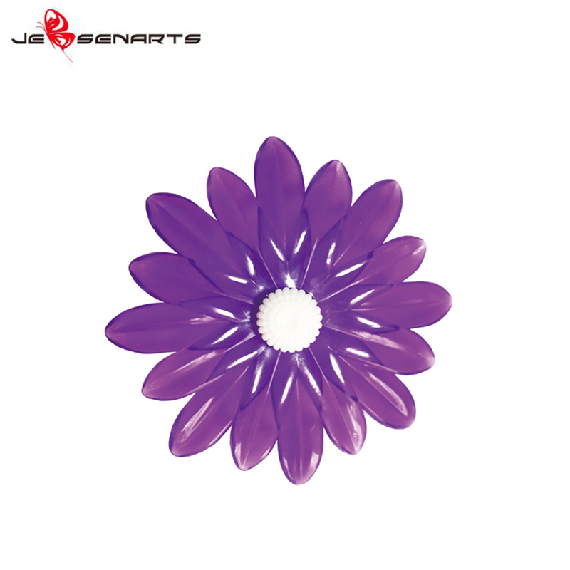 Custom brands car air freshener clip oem fragrance Plastic  daisy flower car vent perfume holder V10