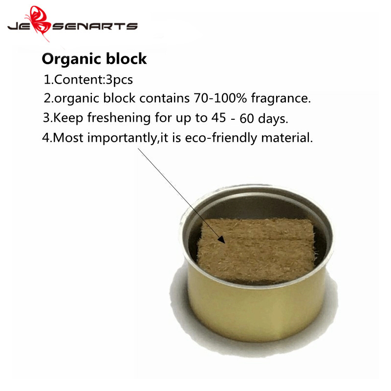 car organic scents car air freshener JEBSEN ARTS manufacture