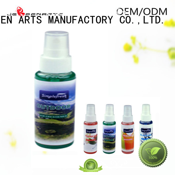 quality spray car air freshener spray pump JEBSEN ARTS Brand company