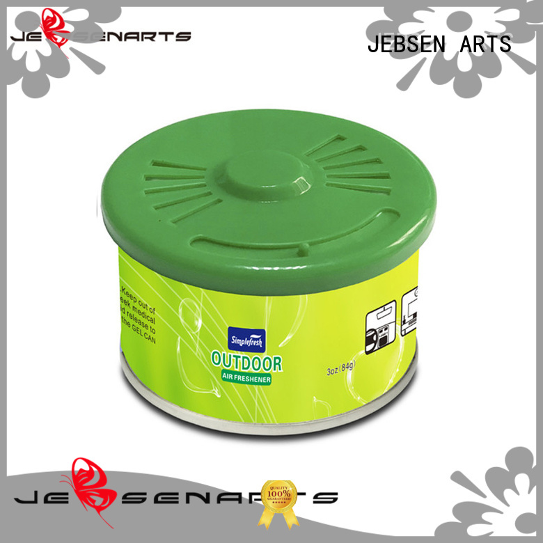 JEBSEN ARTS Brand room scents car air freshener can supplier