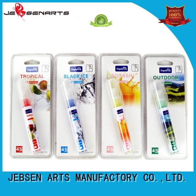 perfume Custom initial car air freshener spray car JEBSEN ARTS