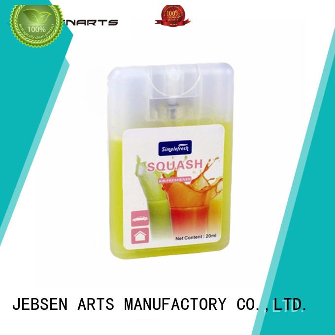 JEBSEN ARTS Brand automatic pump initial car perfume spray car