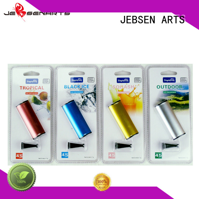 JEBSEN ARTS Brand fragrance metal scented custom personalized air fresheners